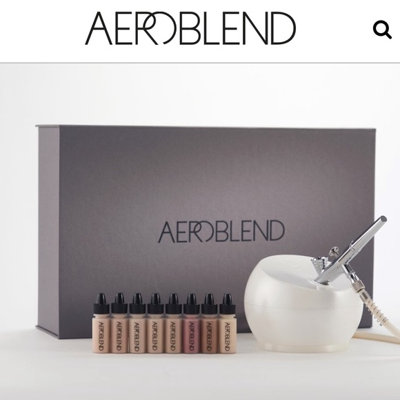 Aeroblend Makeup Airbrush Kit In Medium Poshmark